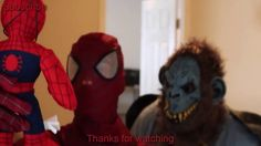 SPIDERMAN AND CRAZY MONKEY | IN REAL LIFE | CRAZY MONKEY RUINS SPIDEMAN'...
