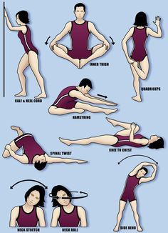 Stretch it Out- After Running Stretches Get your body back!