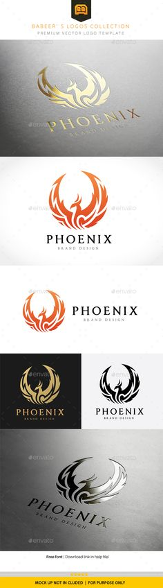 Phoenix Logo Template Vector EPS, AI Illustrator. Download here: http://graphicriver.net/item/phoenix-logo/16067897?ref=ksioks
