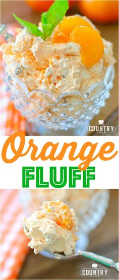 Weight Watchers Orange Fluff recipe from The Country Cook