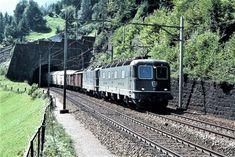 Swiss Railways, Electric Locomotive, Trains, Train