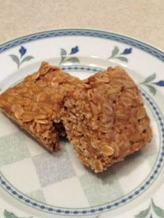 3 Ingredient Peanut Butter and Oatmeal Breakfast Bars, link to site where blogger makes and reviews Pinterest recipes! These bars are fabulous! I think the next time I make these, and there will be a next time, I will add some raisins, a few nuts or maybe even some chocolate chips. The alternatives could make a variety of breakfast bar choices.