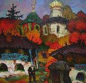Art-gallery, Landscape Russia's, Valery Veselovsky. Арт-галерея Веселовского Валерия. Русский Ностальгический Импрессионизм.