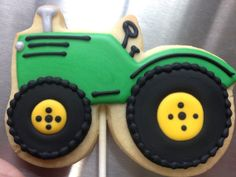 Barn and Tractor Cookie Cutter Set, farm cookie cutter, barn cookie cutter Whipped Shortbread Cookies, Royal Icing Cookies, Sugar Cookies, Farm Cookies, Cut Out Cookies, Cookie Designs, Cookie Ideas, Tractor Birthday, Farm Cake