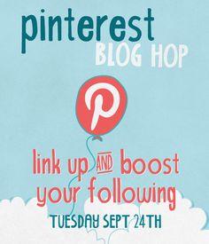 Pinterest Blog Hop! Come Link Up and Grow on Pinterest! - Mama Smiles - Joyful Parenting