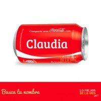 coca cola con nombre claudia - Buscar con Google