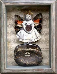 Joseph Cornell, Mixed Media Collage, Collage Art, Collages, Found Art, Assemblage Art, Box Art, Altered Art, Altered Tins