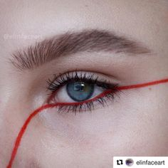 """152 mentions J'aime, 4 commentaires - The Artist Edit (@theartistedit) sur Instagram : """"#Repost @elinfaceart with @get_repost ・・・ The Red Thread ❌ - something acting as the continuous…"""""""