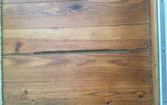q how to fix pine floors