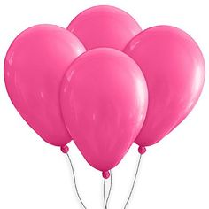 """Balão de Látex Pink 9"""" 25cm Diâmetro http://www.tozaki.com.br/produto/355/balao+de+latex+pink+9+25cm+diametro+50+unid++globotex"""