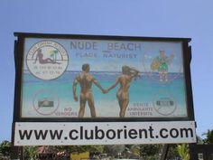 St Martin nudist beach
