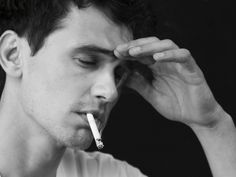 Have a smoke with James Franco
