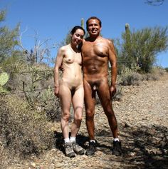 Hiking Nudist Big Tits