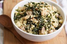 Cous Cous/Italian Sausage/Kale/White Beans