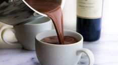 How to Make Red Wine Hot Chocolate YUM! Pinned by: www.spinstersguide.com