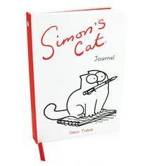 gattoso quaderno Simon's Cat www.gattosi.com