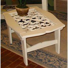 Uwharrie Veranda Coffee Table Finish: B.T. Blue (Distressed)