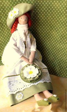 Купить Белый шиповник - тильда, кукла Тильда, текстильная кукла, интерьерная кукла, подарок девушке ♡