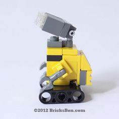 BricksBen - LEGO WALL-E - 2 | Flickr - Photo Sharing!