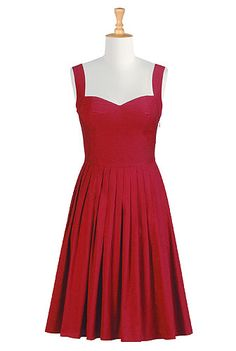 eShakti Her fifties sundress. My order just shipped and my dress is on the way! SUPER cute dresses and they offer a great discount for your first purchase.