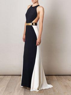 Stella McCartney Saskia Cut-out Side Dress