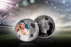 Cristiano Ronaldo -hopearaha #FIFA2018 #Russia2018 #Worldcup #futis Fifa 20, Cristiano Ronaldo, World Cup, Sport, Movie Posters, Movies, Deporte, 2016 Movies, World Championship