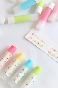 Candy Lipsticks | Sprinkle Bakes