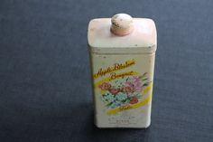 Vintage Byron NY Apple Blossom Talc Talcum Powder Tin on Etsy, $28.97 CAD