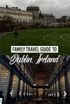 Family Travel Guide to Dublin, Ireland Dublin is one of the youngest capitals in Europe and, for parents, a fantastic city to visit with kids: safe, welcoming and with great infrastructures for little ones, it is the perfect family destination for a city break and a great first stop on an Ireland road trip. I have been living in this wonderful city for 12 years and these are my best tips to make the most of your time in Dublin. #travel #Ireland #Family #Guide #Voyage #Irlande #Famille #Kids…
