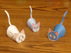 Paper Sailor Moon Cat Toys - Thiswaycome.com