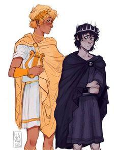 Percy Jackson Ships, Percy Jackson Memes, Percy Jackson Books, Percy Jackson Fandom, Percy Jackson Fan Art Funny, Percabeth, Solangelo Fanart, Magnus Chase, Will Solace