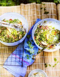 Salade libanaise pour 6 personnes - Recettes Elle à Table