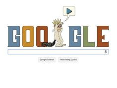Maurice Sendak's 85th birthday Google doodle