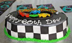 nascar race track cake