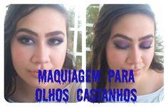 Fique Mais Linda: Maquiagem para destacar olhos castanhos - Por Manu Medeiros Saiba Mais em http://dicasdemaquiagem.vlog.br/maquiagem-para-destacar-olhos-castanhos-por-manu-medeiros/