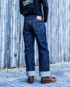 Denim Jeans, Mom Jeans, Casual Outfits, Men Casual, Hats For Men, Denim Fashion, Samurai, Menswear, Denim Style