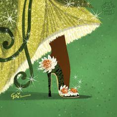 Griz & Norm Lemay Disney Shoes fit for Tiana Dolce & Gabbana Disney Fan Art, Disney Artwork, Disney Style, Disney Love, Disney Magic, Disney Girls, Disney And Dreamworks, Disney Pixar, Walt Disney