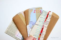 DIY envelopes.