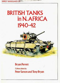 Livre  - Revue British tanks in North Africa - VANGUARD 23