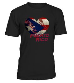 Puerto Rico Baseball Heart Flag T Shirt  Funny Table Tennis T-shirt, Best Table Tennis T-shirt