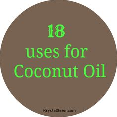 1 Hair ConditionerLeavein Treatment 2 Diaper Rash Treatment 3 Butter Replacement 1 to 1 ratio 4 Canker Sores and Cold Sores 5 Eczema 6 Chicken Pox relieves itching 7 Sun. Coconut Oil For Acne, Cooking With Coconut Oil, Coconut Oil Uses, Benefits Of Coconut Oil, Leave In, Diaper Rash Treatment, Sunburn Relief, Cold Sore, Lip Moisturizer