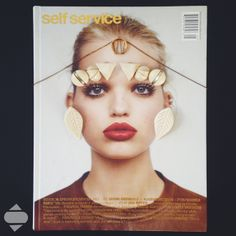 Circle charm necklace and all the earrings GOGO PHILIP - Self Service Magazine n*36
