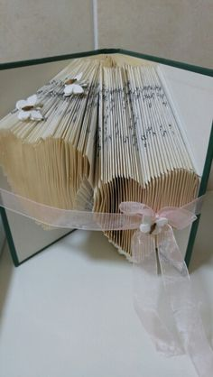 This was so easy to make. First attempt At book folding