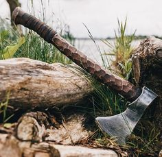 Buy Cold Steel Knives, Daggers, Swords and Self Defense Weapons Vikings, Cool Knives, Knives And Swords, Bushcraft, Hand Axe, Axe Handle, Viking Axe, Beil, Battle Axe