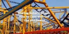http://denseymour.com/startup-roller-coaster/  Startup life is a roller coaster. Ups and downs each and everyday. How do you deal with it? Check out my tips on how to cope with #StartupLife.