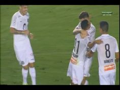 Golaço de geovânio, Santos 3 x 0 Coritiba - Campeonato Brasileiro 08/08/2015