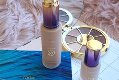 Tarte cosmetics rainforest of the sea water foundation review and swatches NEW tarte foundation