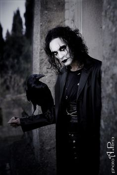 The Crow - tribute to Brandon Lee. by Fiorella Scatena, via Flickr
