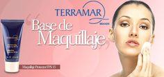 Luce una piel radiante y a su vez protege tu rostro con el Maquillaje Protector FPS15 de Terramar. Consulta: http://terramarbrands.com.mx/