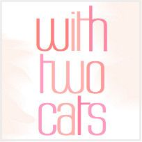 with two cats